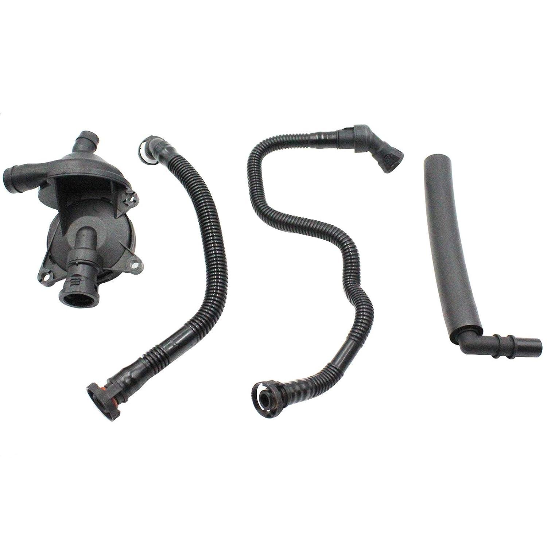 Crankcase Breather Vent Valve Hose Kit for BMW E46 E90 E91 E81 E83 X3 Z4 318i