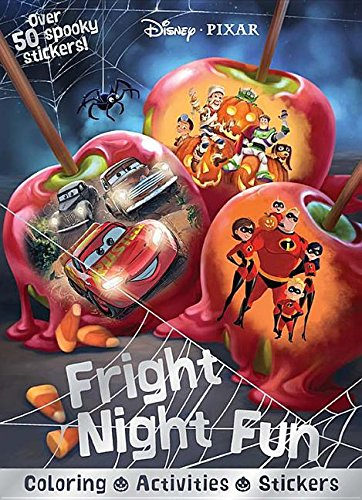 Disney Pixar Fright Night Fun: Coloring, Activities,
