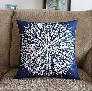 WAFJB Funda de cojín Sea Style Coral Starfish Impreso Cama ...