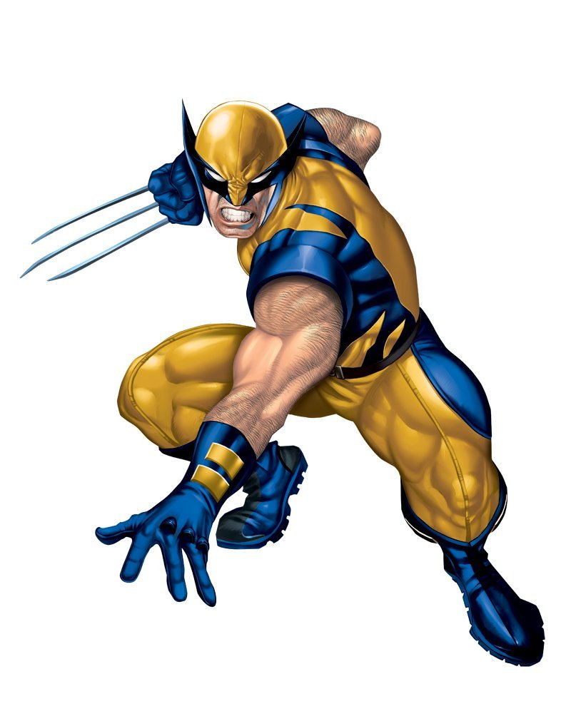 Roommates wolverine giant repositionable marvel wall stickers roommates wolverine giant repositionable marvel wall stickers amazon kitchen home voltagebd Images