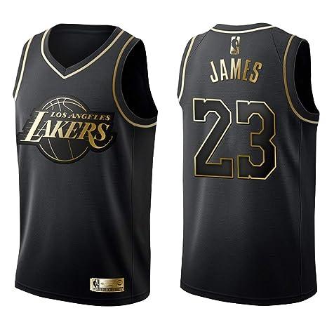 FDRYA - Camiseta de Baloncesto de Hombre NBA Lakers 23 James ...