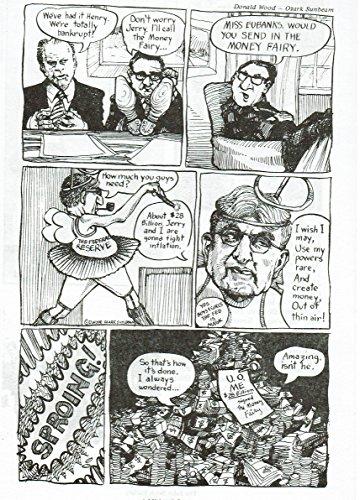 [Broadside] Comic of President Ford, Henry Kissinger, and Alan Greenspan
