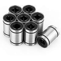 Rodamientos de bolas lineales, 8 piezas LM10UU 10