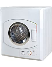 Panda Portable 3.75 cu.ft 13 lbs Dryer 110V Compact Apartment Size Stainless Steel Drum See Through Window Larger size PAN60SF