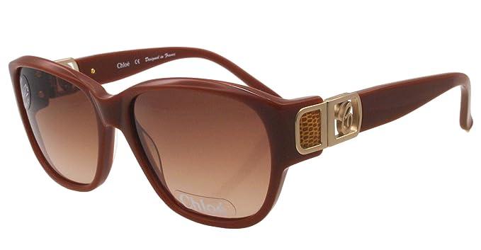 Amazon.com: anteojos de sol Chloe CL 2242 C03 Toffee café 58 ...