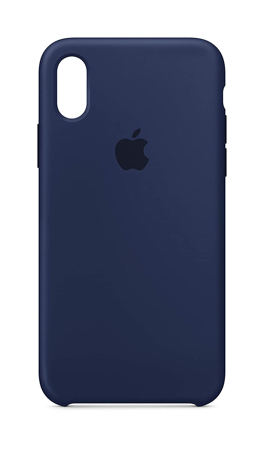 the latest 7e9b8 6c005 Apple Silicone Case (for iPhone X) - Midnight Blue
