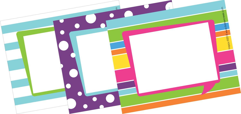 Barker Creek 3-1/2 x 2-3/4'' Name Badges/Self-Adhesive Labels, Happy, 45-Count (LL-1531)