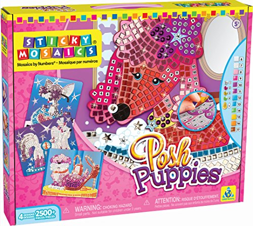 (The Orb Factory Sticky Mosaics Posh Puppies)