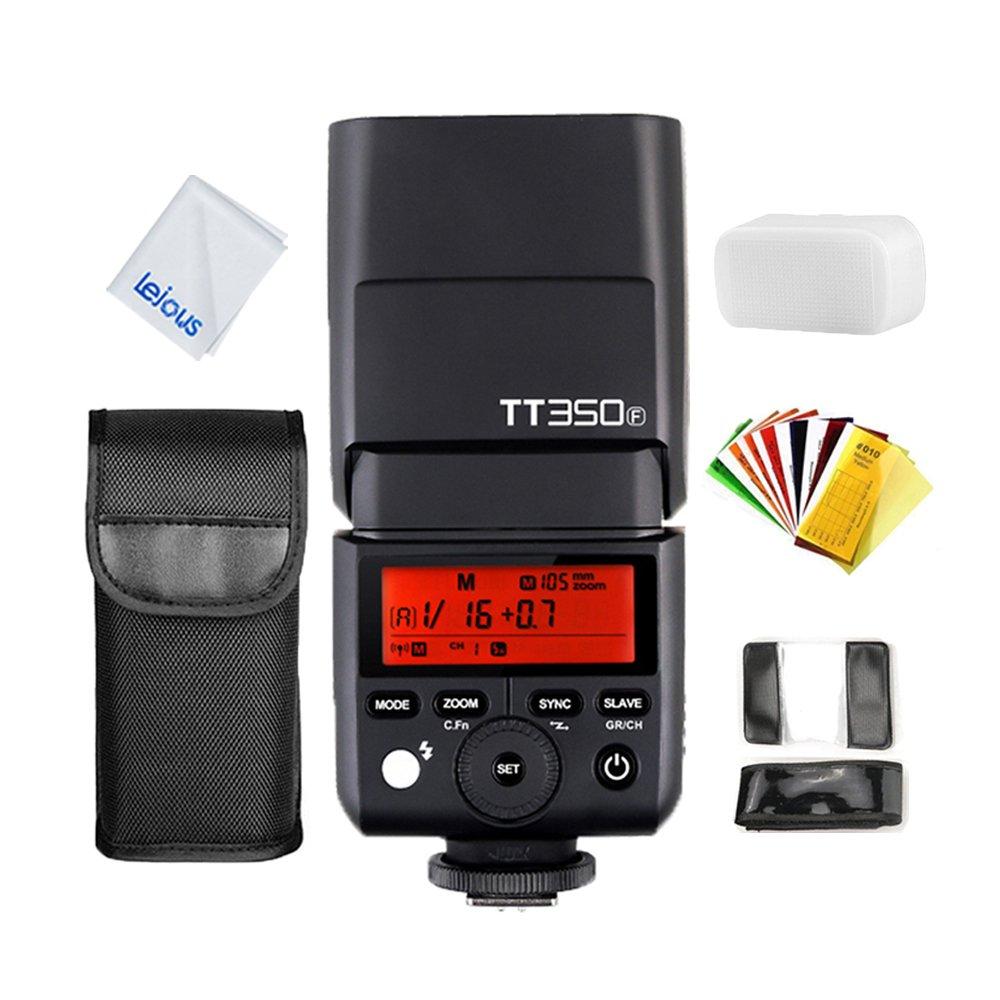 GODOX TT350F TTL Flash 2.4G HSS 1/8000s GN36 Camera Speedlite for Fuji X-Pro2 X-T20 X-T2 X-Prol X-T10 X-El X-A3 X100T ect. Digital Camera