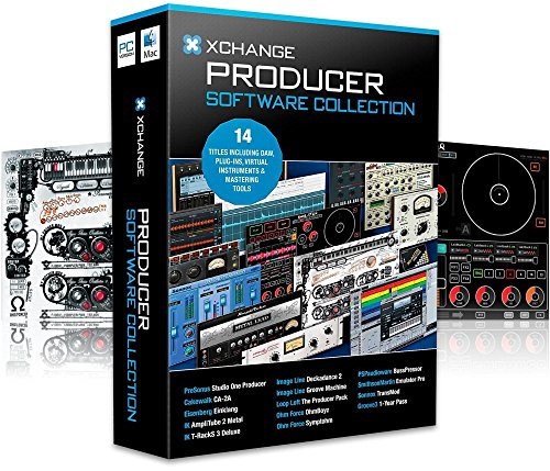 XCHANGE Producer Collection with Presonus, Cakewalk, IK Multimedia, Image Line, Loop Loft, Ohm Force, and Sonnox ()