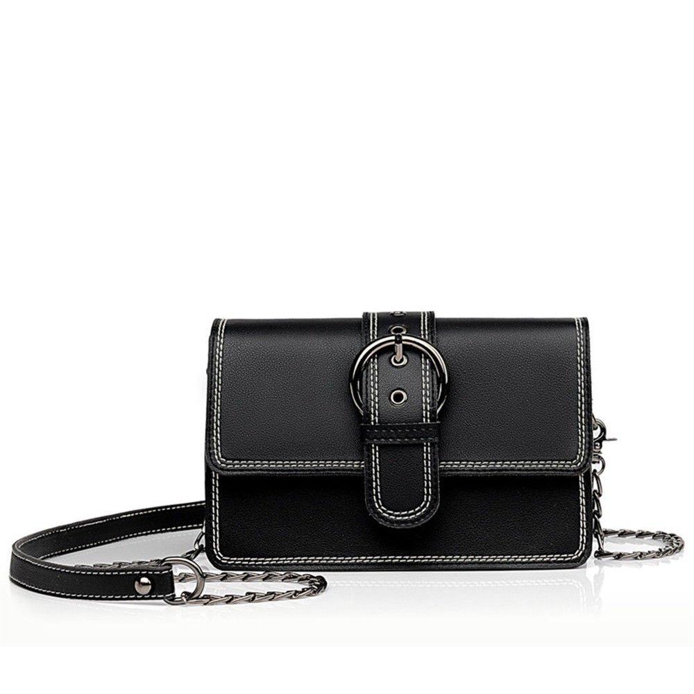 A Slant Bag, A Single Shoulder Bag, A Bag, A Lady'S Wallet,Black,20X13X9Cm