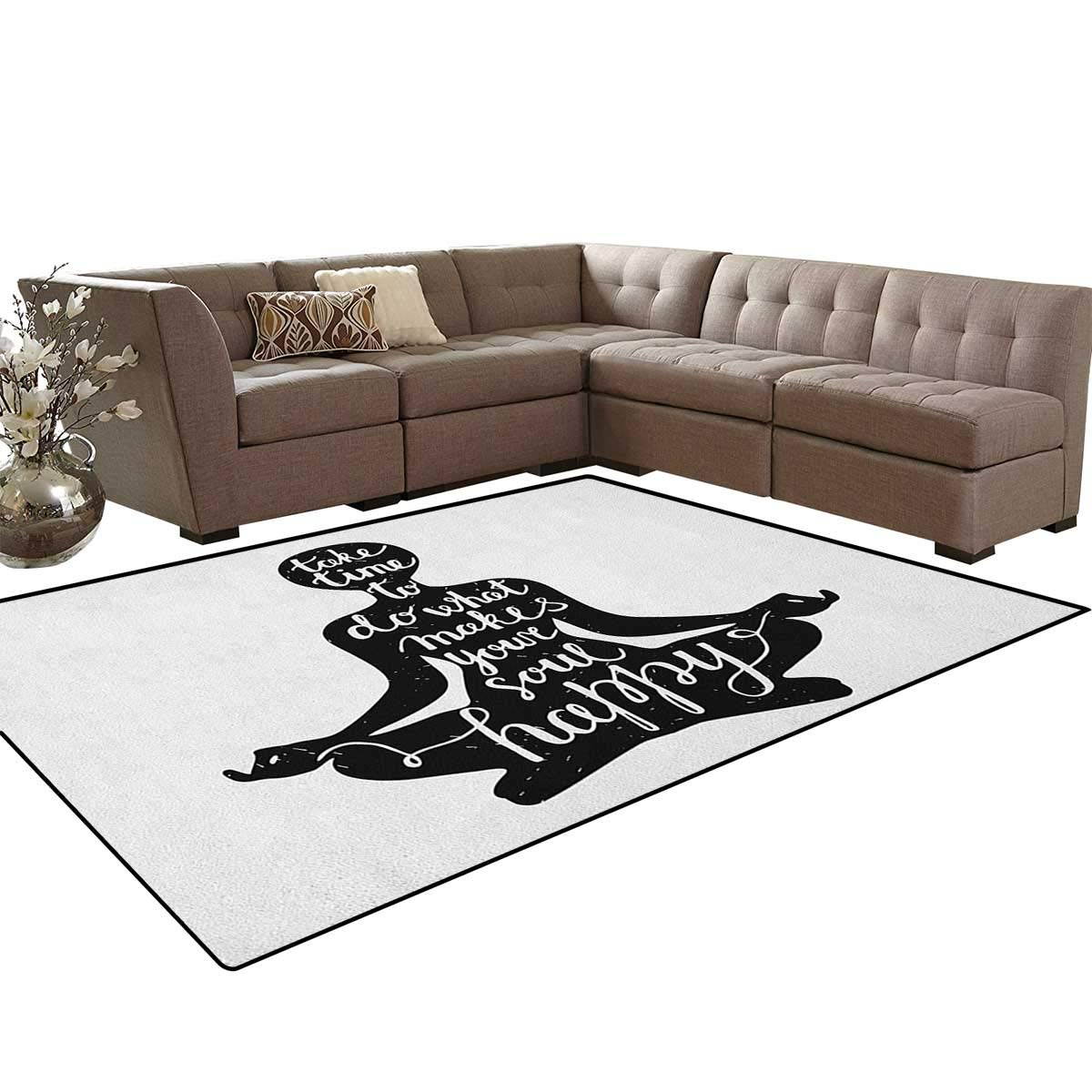 Amazon.com: Yoga, Carpet, Authentic Mandala Inspired ...