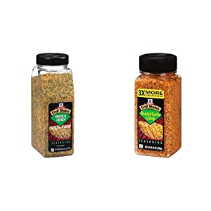 McCormick Grill Mates Montreal Chicken Seasoning, 23 oz & McCormick Grill Mates Roasted Garlic & Herb Seasoning, 9.25 Ounce (Pack of 1)