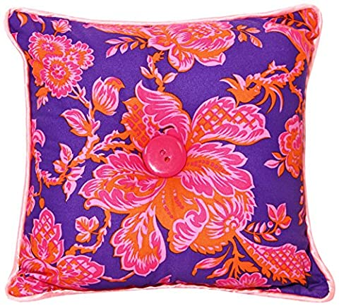 Wake Up Frankie Candy Crush Accent Pillow, Orange/Purple (Wake Up Frankie)