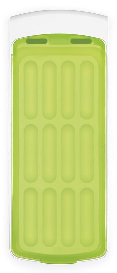 Cubetera para hacer hielo Good Grips antiderrame con tapa de silicona, de OXO