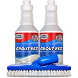 IT JUST WORKS! Grout-Eez Super Heavy Duty Tile & Grout Cleaner and whitener. Quickly Destroys Dirt & Grime. Safe For All Grou