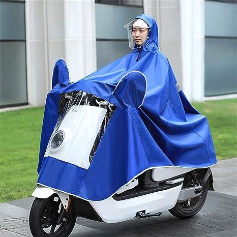 GLJY Impermeable Poncho de Lluvia Bicicleta Bicicleta Capas de ...