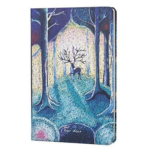 Colorful Hardcover Office Business Notebook,Sketchbook,Diary for Travel Journal/Make Note/solar calculator (Random)