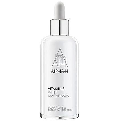 Alpha-H vitamina E Suero con nueces de macadamia, 50 ml