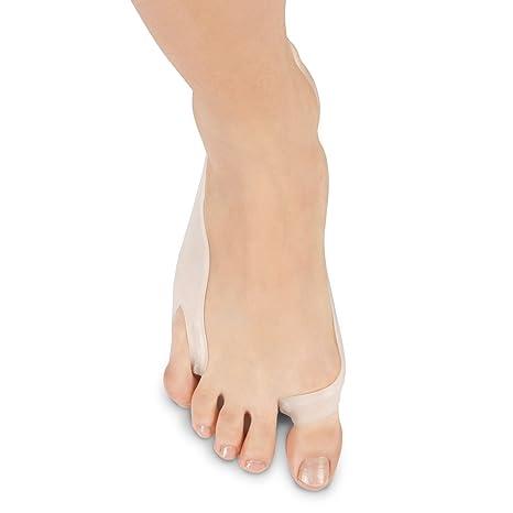 SOLES Pad para juanetes y separador de dedos con férula - Enderezador del pie de gran