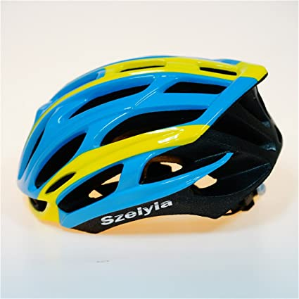 Amazon.com : Scrohiro Mtb Mountain Bike Helmet Cascos Bicicleta Carretera Ciclismo Bicycle Cycling Intergrally Light blk green : Sports & Outdoors