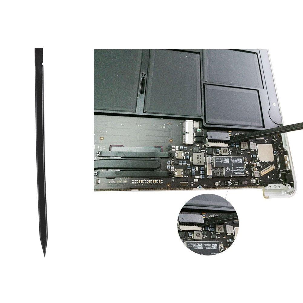 Fit Models A1425 A1502 A1398 A1465 A1466 A1369 A1370 A1534 Pentalobe 5 Point 6 Point QNINE Screwdriver Set 3pcs Repair Tool Kit for MacBook Air /& Pro with Retina Display Black