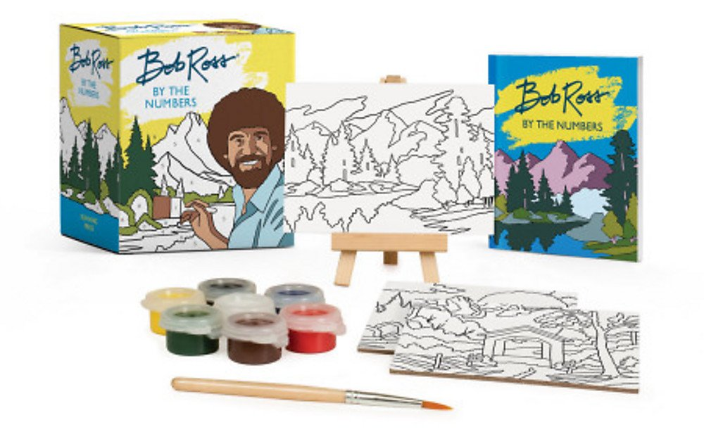 Bob Ross Numbers Miniature Editions product image