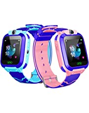 Dieron Children Smart Watch SOS Call Location Tracker Student Two-way Voice Wristwatch Smartwatches