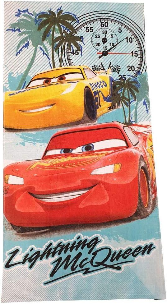 Cars Disney Pixar Handt/ücher Badet/ücher Strandt/ücher f/ür Kinder mit Motiven von Lightning McQueen Cruz Ramirez /& Jackson Strom 70x140 cm Lightning McQueen 95 Rusteze, rot