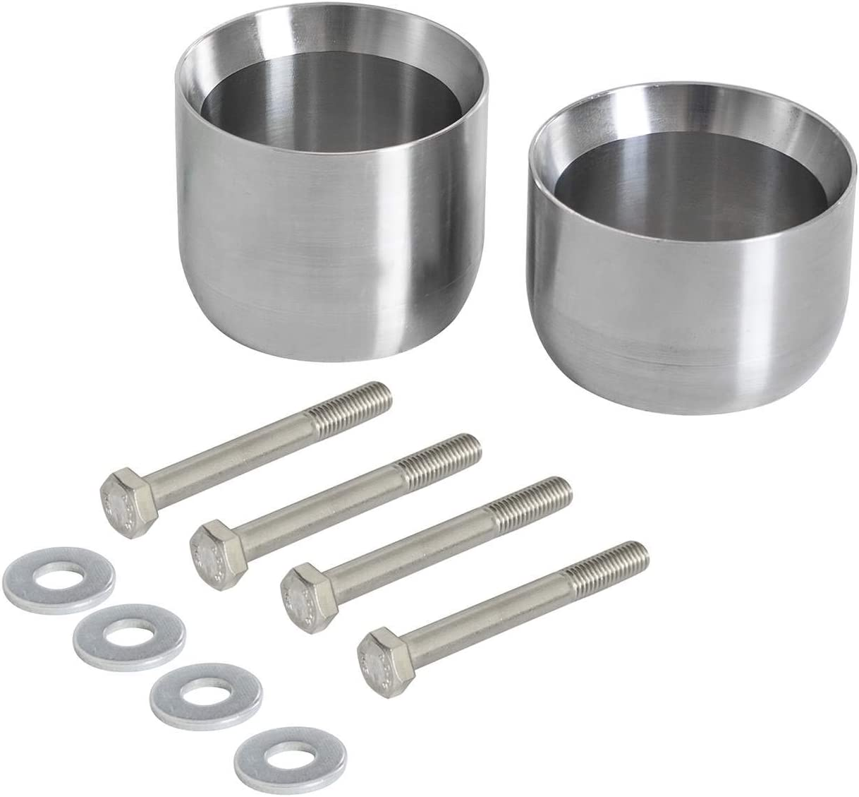 aFe Power 48-90002 Stainless Steel Y-Pipe Spacer Kit 1 Pack