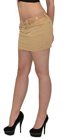 3f2704b562b2 ESRA Mini Rock Damen Minirock Jeans Mini Damen Jeansrock Damenrock in  Aktuellen Farben