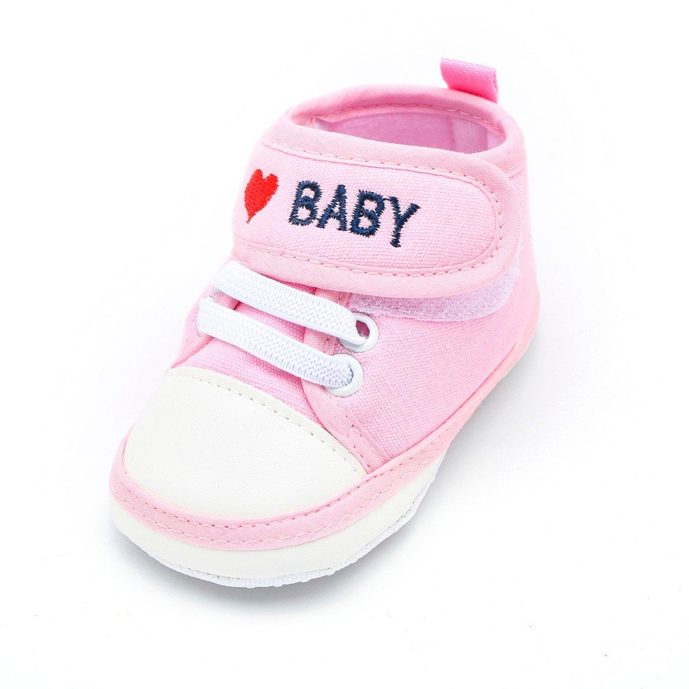 Newborn/Baby/Toddler Boys Girls/Letter Heart Anti-Slip Soft Sole/Casual/Shoes