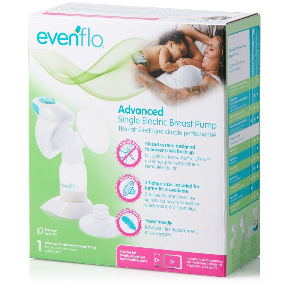 Amazon.com: Evenflo Advanced Single – Sacaleches Eléctrico ...