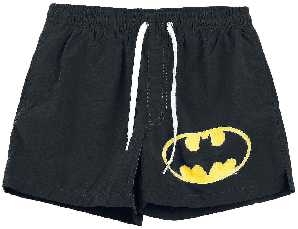 Batman Logo Badeshorts schwarz Bravado Merchandise GmbH