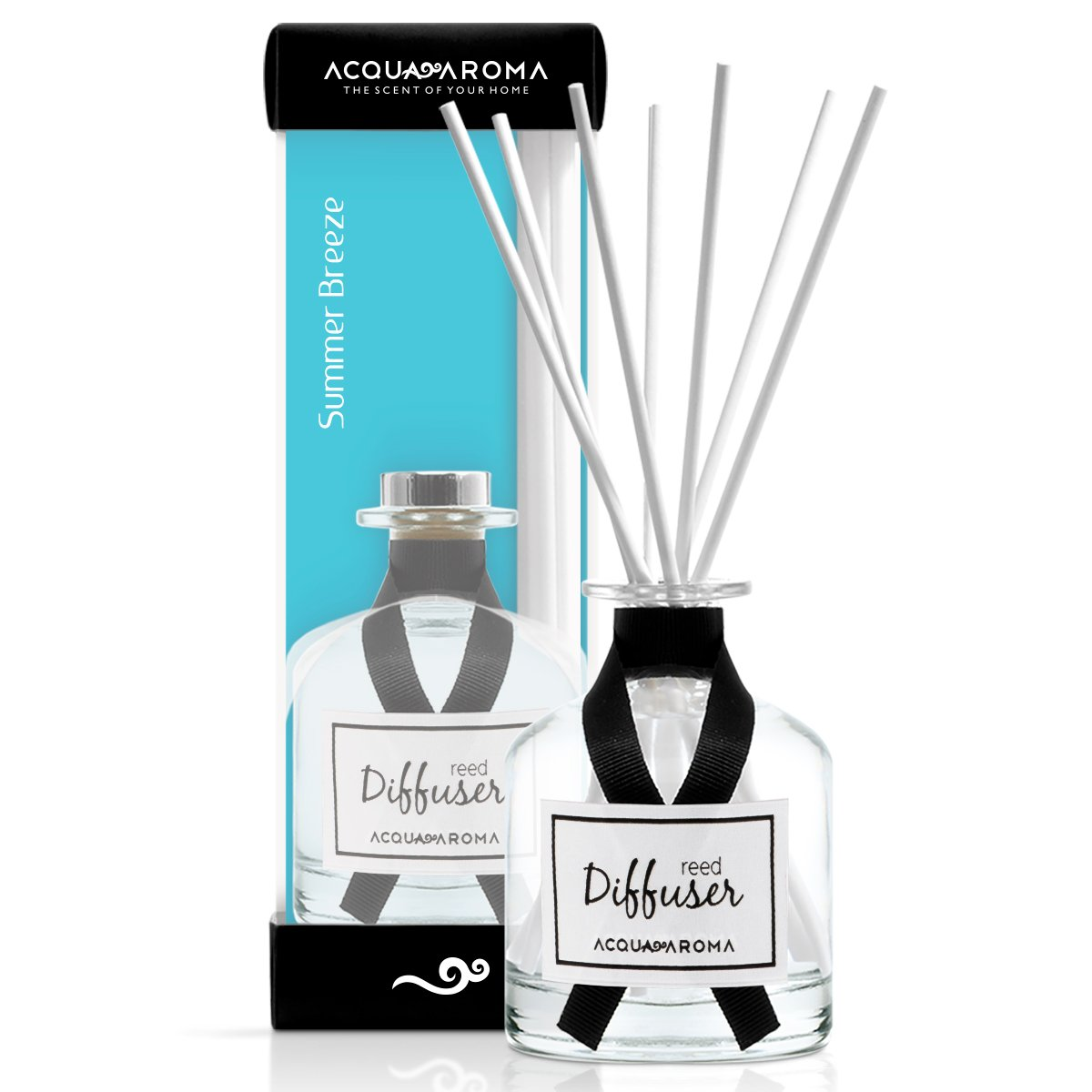 Acqua Aroma Everyday Collection Summer Breeze Reed Diffuser 8.1 FL OZ (240ml)