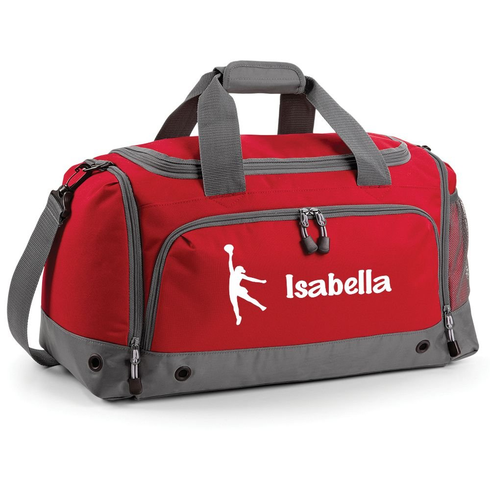 iClobber Netball Holdall Personalised with Your Name