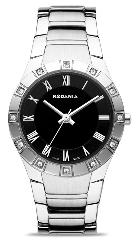 Rodania Salina women'Swiss Herren Armbanduhr Analog Edelstahl silber RS2503447