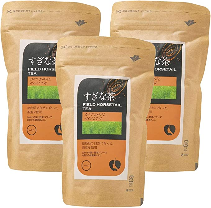 [ナチュラルハウス] すぎな茶 60g (2gx30袋)×3袋 オーガニック 徳島県産スギナを使用