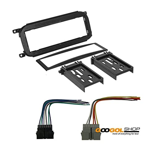 amazon com: chrysler 2001 pt cruiser car stereo dash install mounting kit wire  harness: car electronics