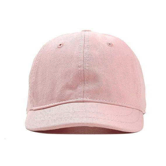 Amazon.com: Venta Nueva Caliente Del Verano Moda Unisex Gorra De Béisbol Femenina Sombrero Snapback Hip-hop Ajustable Hombres, by jdon-hats, (Color : Pink, ...