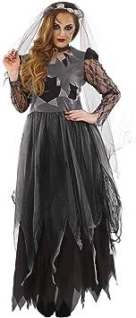 Fun Shack Womens Corpse Bride Costume Adults Black Zombie Wedding Dress Outfit Small Fun Shack Amazon Co Uk Toys Games,Wedding Pakistani Women Dress