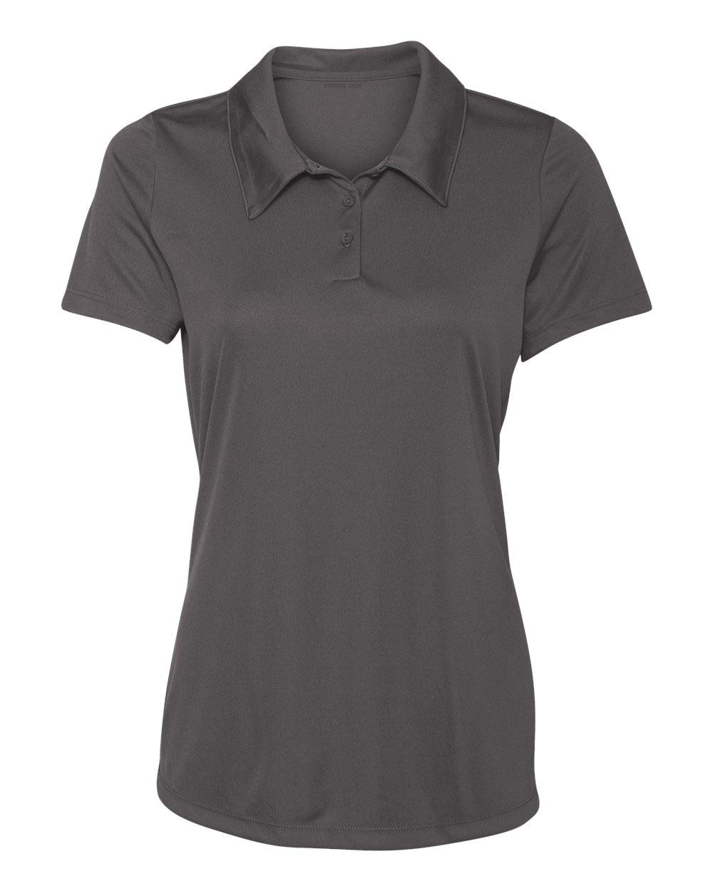 Animal Den Women's Dry-Fit Golf Polo Shirts 3-Button Golf Polo's in 20 Colors XS-3XL Shirt Graphi-M by Animal Den