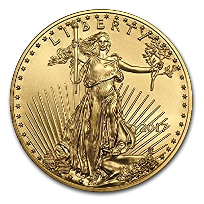 2017 1/4 oz Gold American Eagle BU Gold Brilliant Uncirculated
