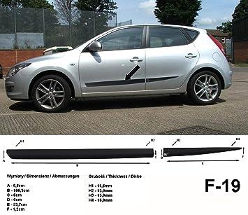 Spangenberg Listones de protección Lateral Hyundai i30 I Hatchback de 5 Puertas 1. Generación de años de construcción 10.2007 - 2011 F19 (370001901): ...