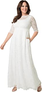 product image for Kiyonna Women's Plus Size Sweet Serenity Wedding Gown