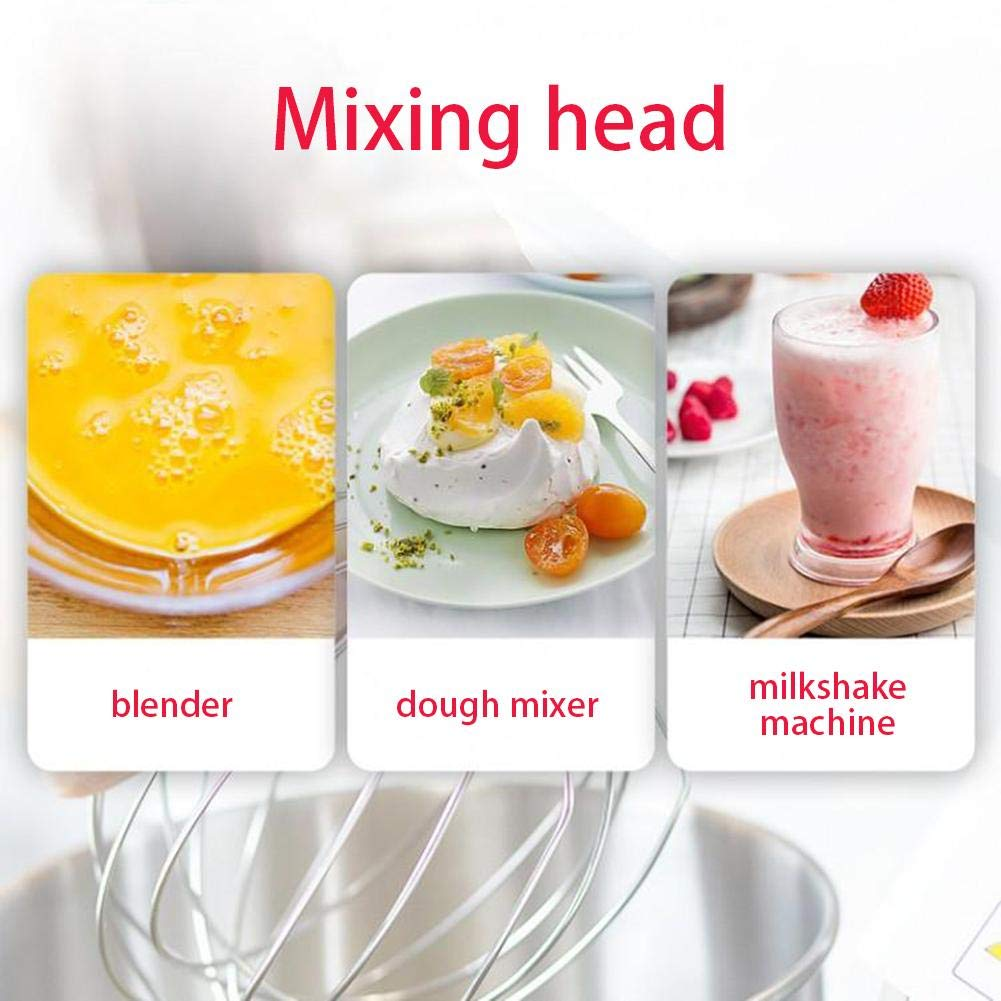 astolily K45WW Wire Whip for Tilt-Head Stand Mixer for KitchenAid Stainless Steel Egg Cream Stirrer Flour Cake Balloon Whisk