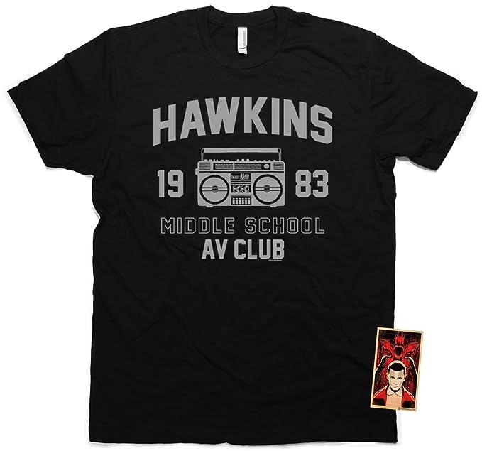 Amazoncom Daft Threads Hawkins Middle School Av Club Stranger