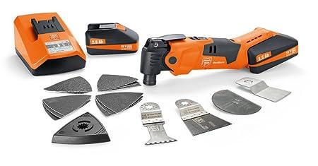 FEIN 71291291240 AFMM18 18v Cordless MultiMaster Kit (2 x