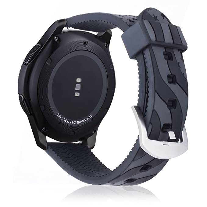 Juzzhou Watch Straps For Samsung Gear S3 And Other All 22mm Watch Smartwatch