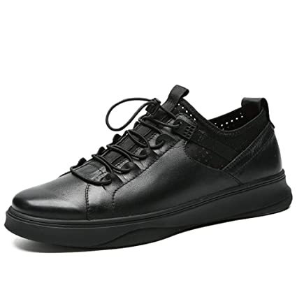 666fc345ee23 Amazon.com : XUE Men's Athletic Shoes, Leather, Spring Fall, Comfort ...